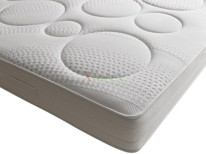 Memory Foam Mattress W Anti Allergen Bacterial Fungal Treatment