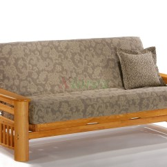 Oak Furniture Sofa Beds Rv Australia Box Bed Night And Day Portofino Futon Sofabed Honey
