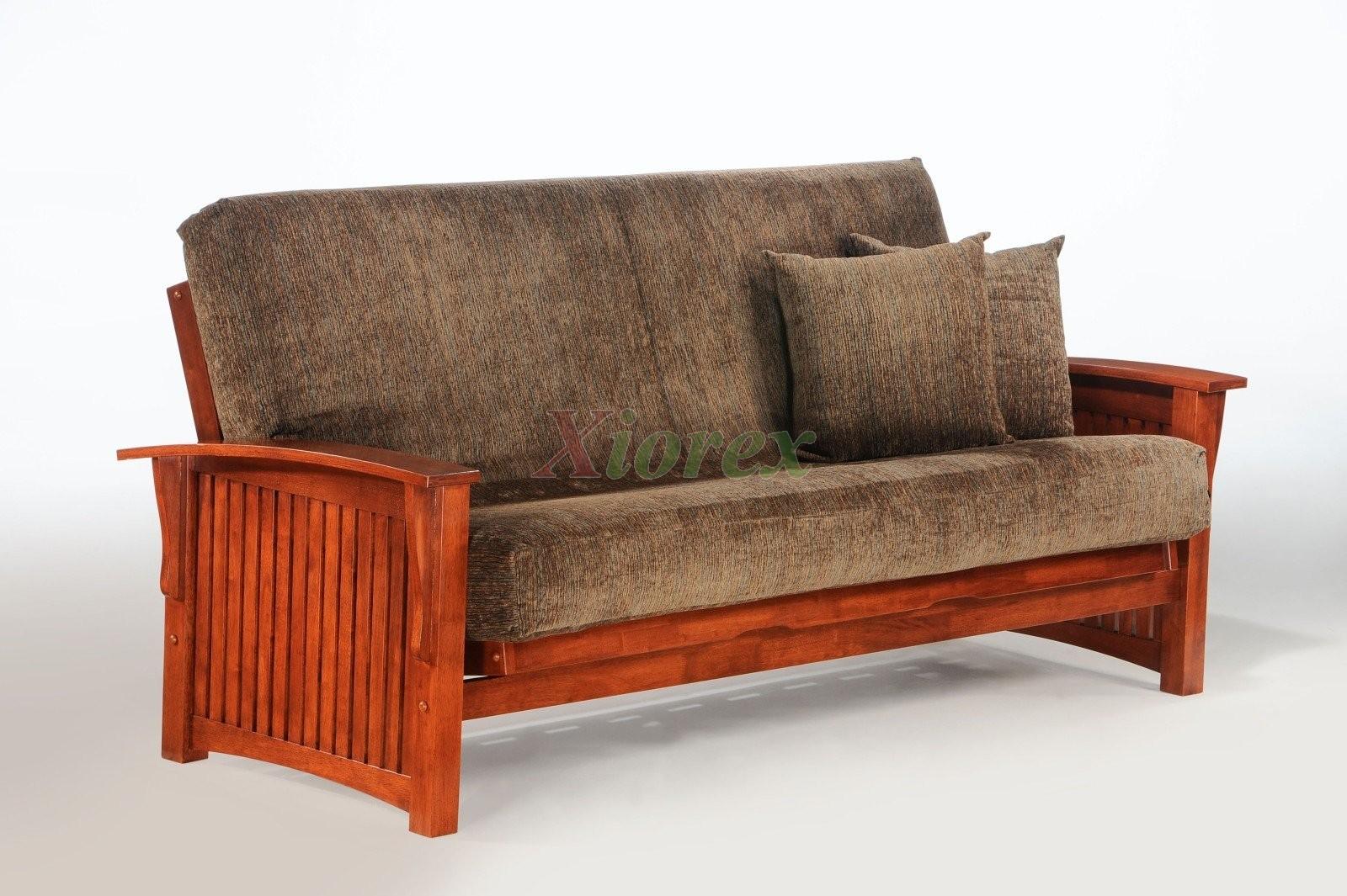 wooden futon chairs ergonomic office chair johannesburg wood frame night and day winter xiorex