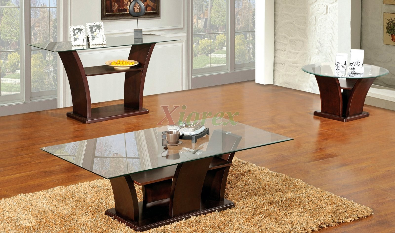 sofa table set rv covers columba 3 piece coffee with console