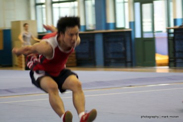 Allenamento tipico al Wushu in Cina ed in Occidente