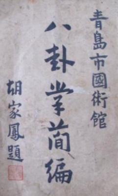 THE BAGUA MANUAL OF YIN YUZHANG | Brennan Translation