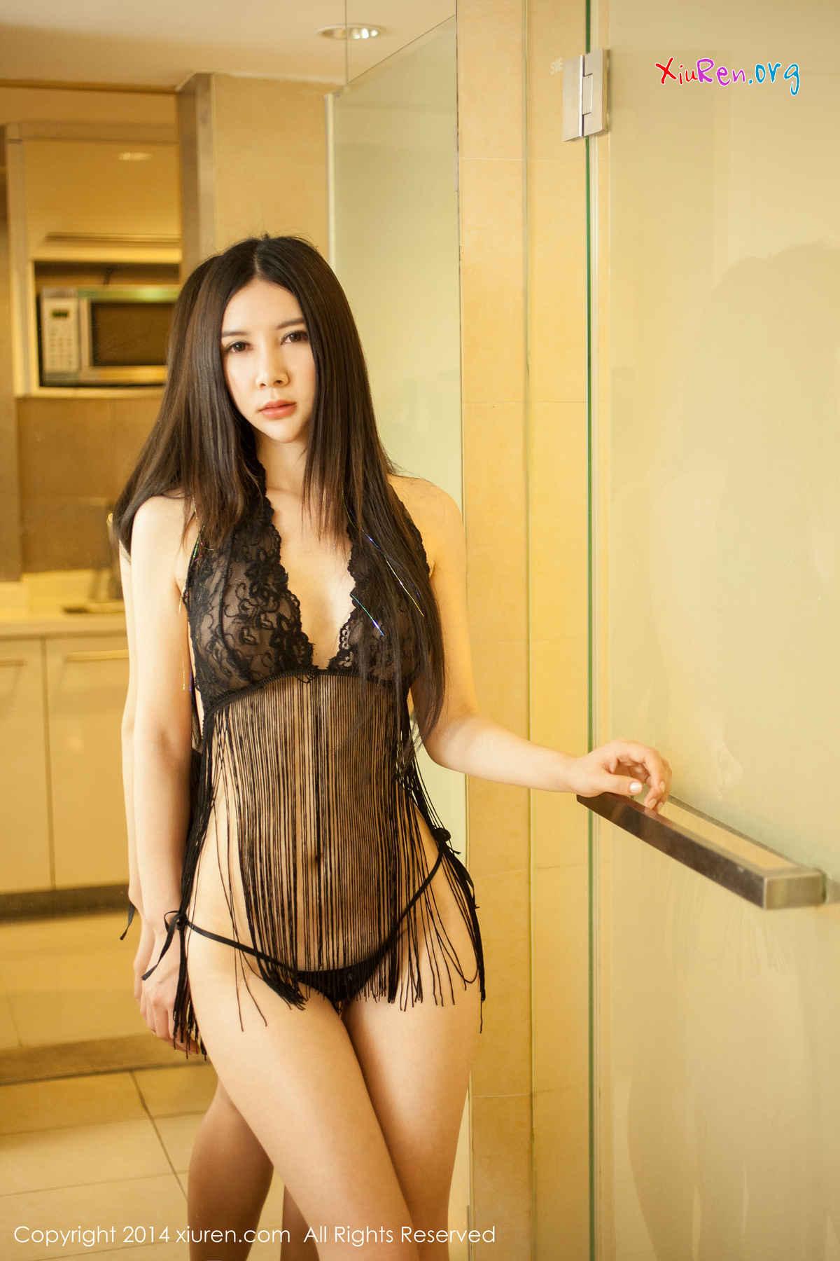 Gu Xinyi 顾欣怡 Uncensored See Through : XiuRen Model No.127 | Gravure Girl - Junior Idols, Gravure Models & Cosplay 6