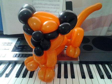 魔術氣球小狗造型【成都喜悅氣球】