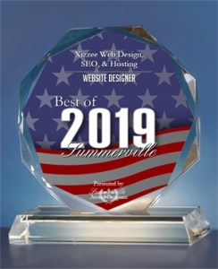 2019 Best of Summerville Web Design Award.