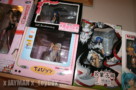 Boxed Anime Figures