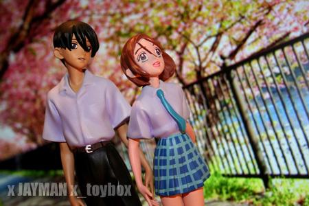 Arima and Yukino from Kare Kano
