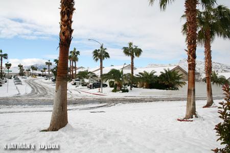 Vegas Snow
