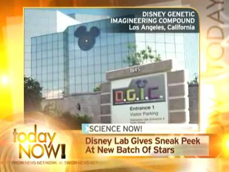 Disney Genetic Lab
