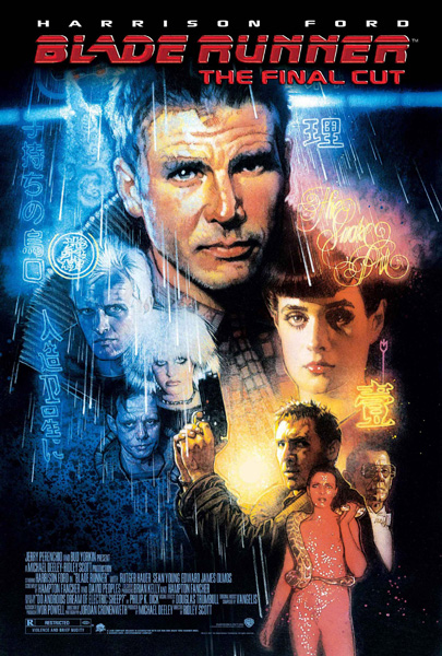 Harrison Ford in Blade Runner (1982, 1992, 2007)