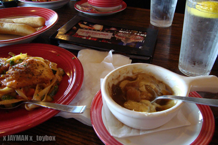 Lunch at T.G.I.Friday's