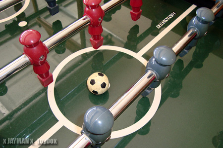 Monday, Labor Day Foosball Cleaning