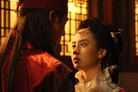 Song Ji-hyo in Jumong (2006)