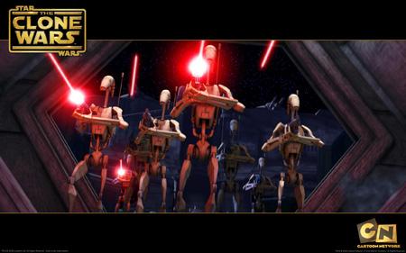 Star Wars - The Clone Wars - Battle Droids