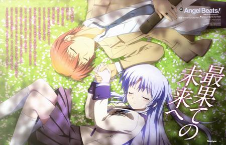 Angel Beats! | Tachibana Kanade & Otonashi Yuzuru