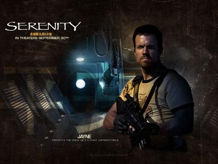 Adam Baldwin as Jayne Cobb | Serenity (2005)