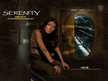 Jewel Staite as Kaywinnit Lee Frye | Serenity (2005)