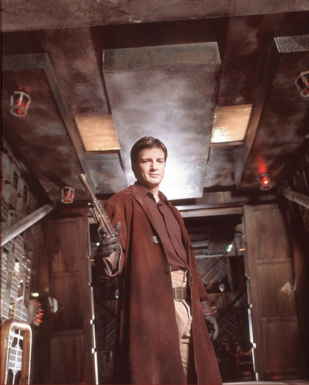 Nathan Fillion as Malcolm Reynolds | Firefly (2002)