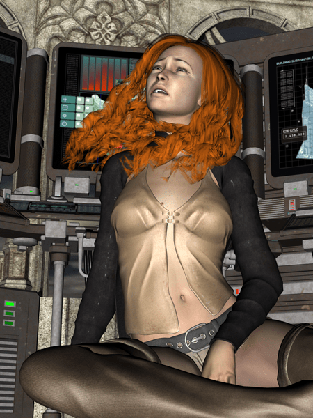 Deirdre in Despair | Daz Studio 3D Render