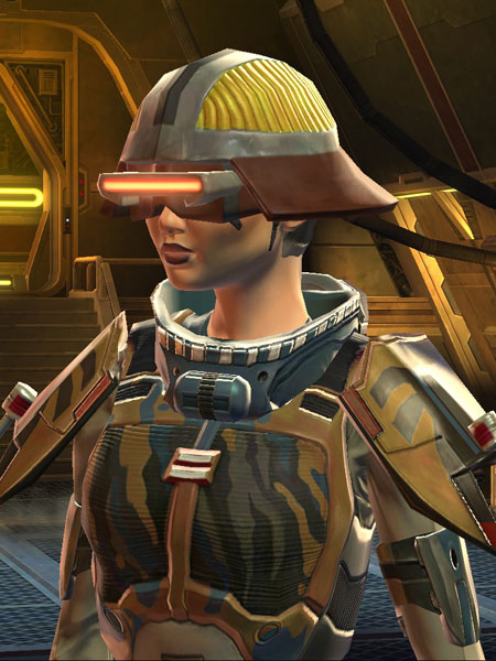 Punktrooper Motoko, Bounty Hunter, Level 27 | SWTOR