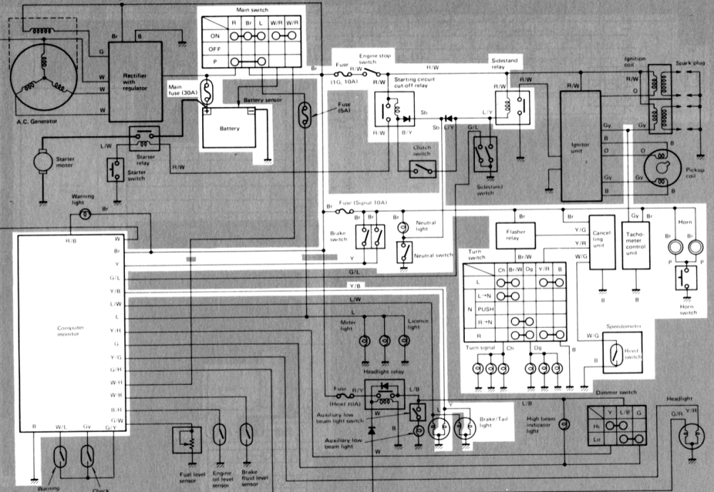 medium resolution of above circuit diagram shows only signal circuit in wiring diagram