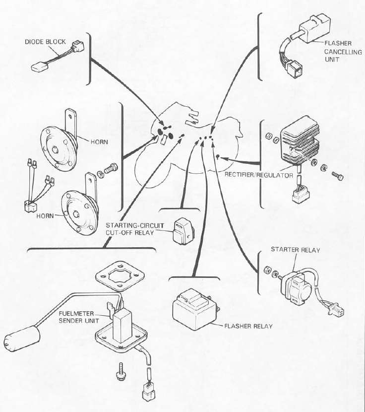 Pdf 71 Mustang Wiring Diagram For Horn