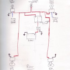Led Flasher Unit Wiring Diagram Bosch 12v Relay 30a And Signals All Flashing At Once - Xjrider.com