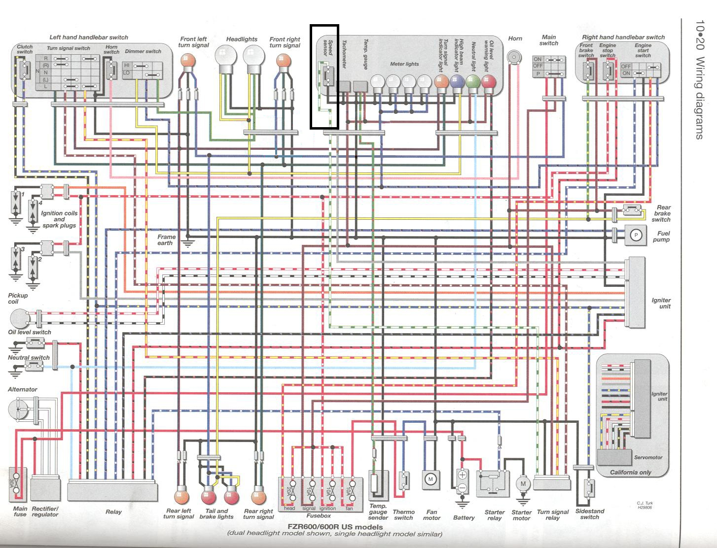 hight resolution of yamaha xj600 wiring diagram wire data schema u2022 rh frana co 92 yamaha