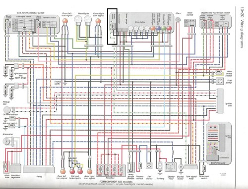 small resolution of yamaha xj600 wiring diagram wire data schema u2022 rh frana co 92 yamaha
