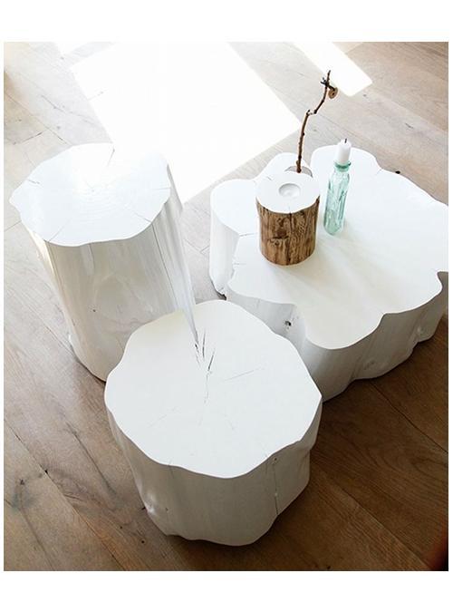 Tavolino tavolo da salotto soggiorno caff㨠t㨠design moderno vari colori. Tris Tavolini Da Salotto Casas Colore Bianco Xlab
