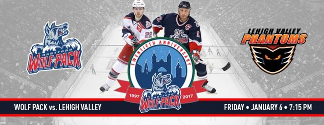 Image result for Hartford Wolf Pack vs. Lehigh Valley Phantom Jan 6