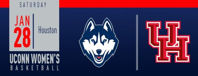 Image result for UConn Women's Basketball vs. Houston jan 28