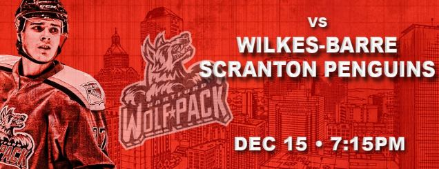 Image result for Hartford Wolf Pack vs. Wilkes-Barre Scranton Penguins