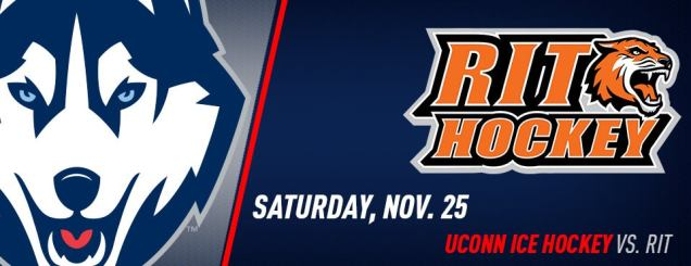 Image result for UCONN HOCKEY VS. RIT