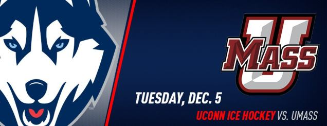 Image result for UConn Hockey vs. Massachusetts XL Center Dec 5