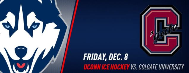 Image result for UConn Hockey vs. Colgate