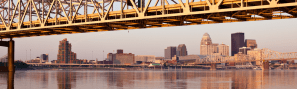 Louisville skyline wide
