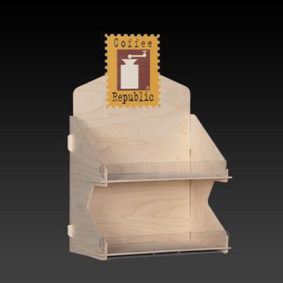 Ξύλινο Επιτραπέζιο Σταντ