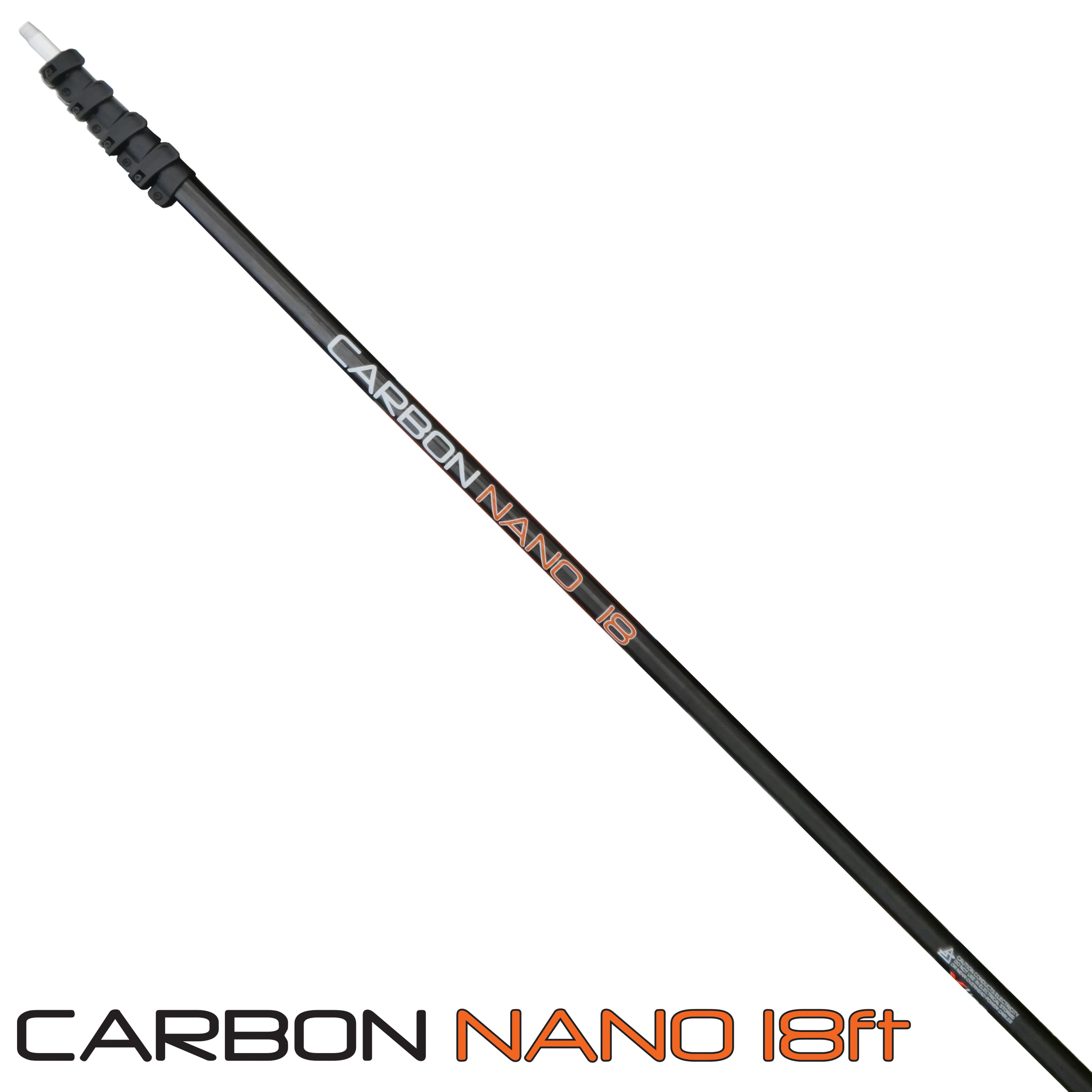 18ft Carbon Nano Water Fed Pole