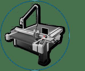 ZÜND Cutter 3G 3 XL Cutter und Fräsanlage