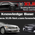 Cadillac XLR Knowledge Base Updated