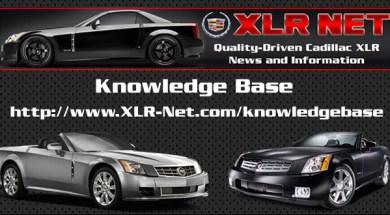 Cadillac XLR Knowledge Base Updated