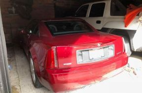 The garage where Peter Pyros was trapped for 14 hours in his Cadillac XLR. (Photo: Peter Pyros)