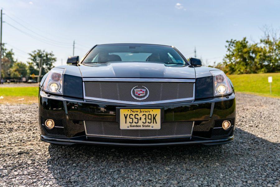 2009 Cadillac XLR-V VIN #1G6YX36D295600323
