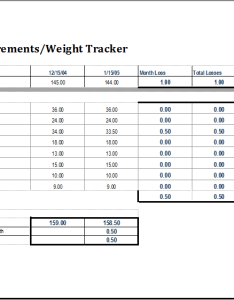 Body measurement and weight tracker template also excel templates rh xltemplates