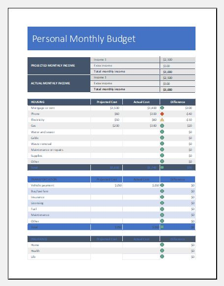 Free Excel Budget Templates for Everyone | Excel Templates
