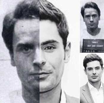 Zac Efron Ted Bundy likhet