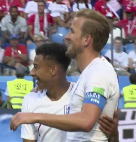 Harry Kane Jesse Lingard mål England Panama