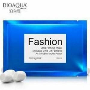 (Предзаказ) Ультра подтягивающая питательная лифтинг маска «BIOAQUA» Fashion для лица с шелком.(П-2783)