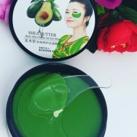 Гидрогелевые патчи с экстрактом авокадо KUGE SHEA BUTTER Eye Mask